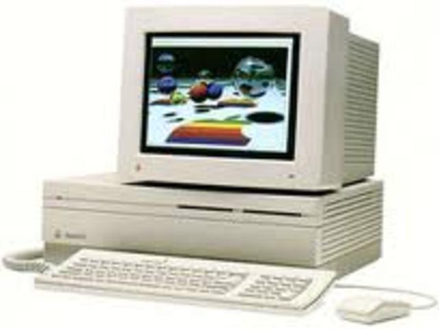 Macintosh IIfx / Amiga 3000
