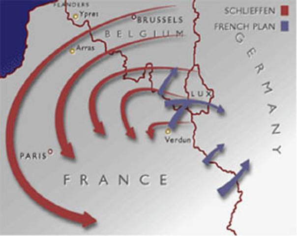 Germany attacks France