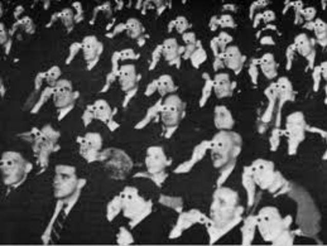 First 3D movie