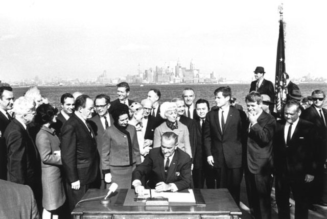 1965-Immigration Reform Act