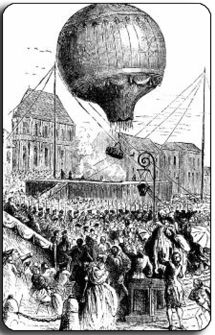 First Hot-Air Balloons are launched
