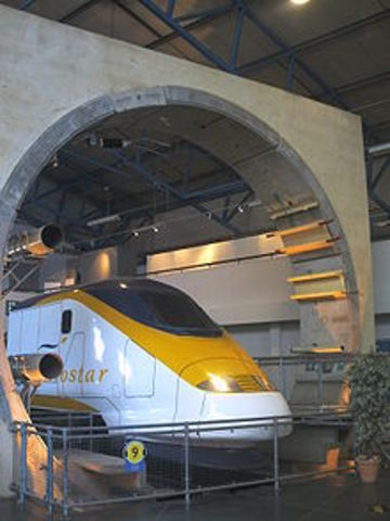 Channel Tunnel Opens