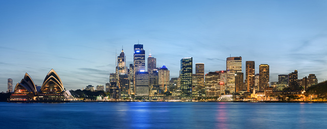 Sydney hosts the Olympic Games