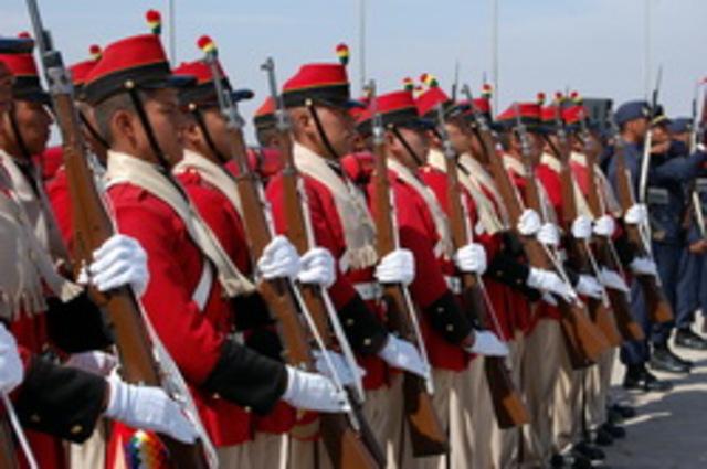 Agustin Gamarra entró al ejército