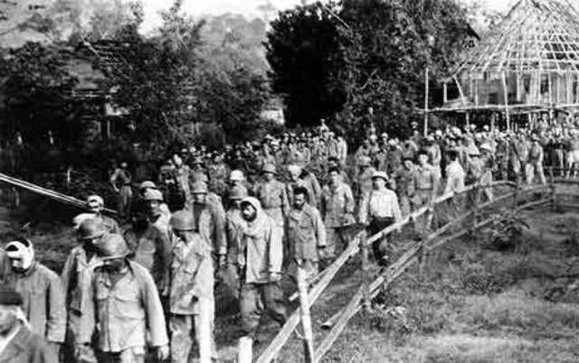 Dien Bien Phu surrenders