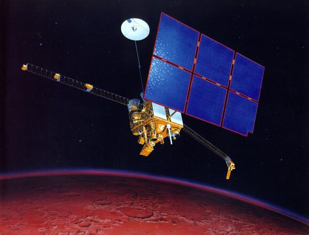 Mars Observer Fail