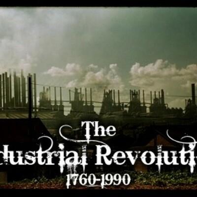 The Industrial Revolution timeline