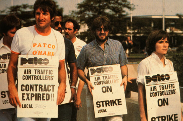 Reagan; PATCO strike