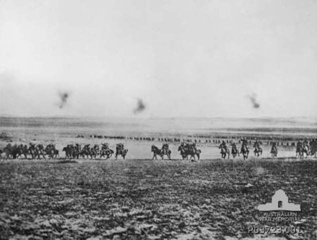 The Charge on Beersheba, By Kyle Wallace-Mitchell