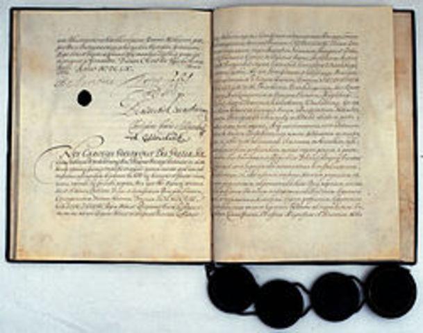 The Treaty of Oliva