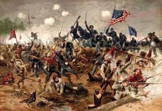 The American civil war begins.