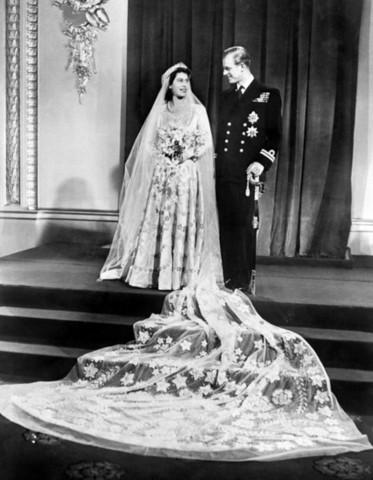 Elizabeth first met her husband Philip tennis match