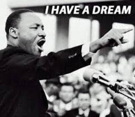 """The speech """"I Have a Dream"""""""