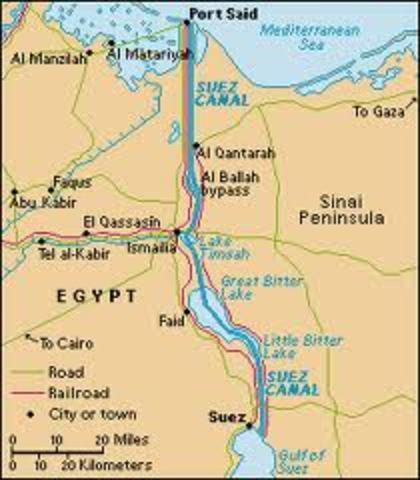 Suez Canal/ Nasser