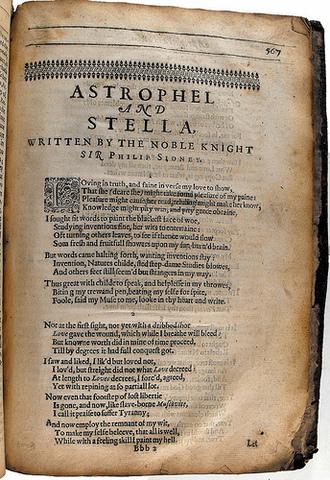 Astrophel and Stella - Sir Philip Sidney