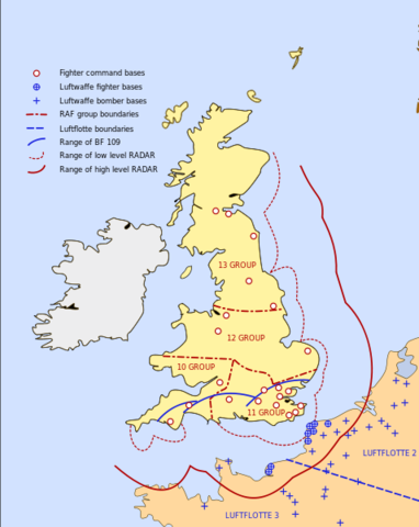 Battle of Britain – Royal Air Force defeats German Air Force to prevent invasion of their island