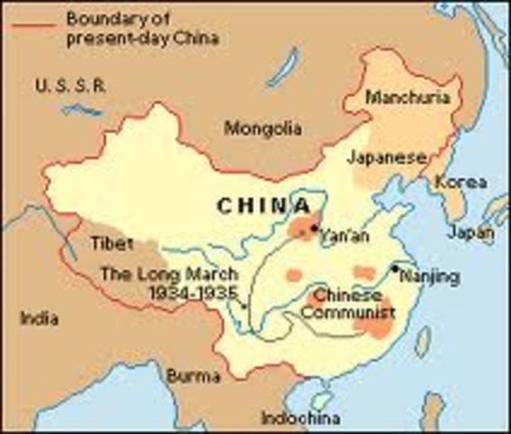 Japan invaded China