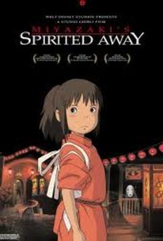Spirited Away Released