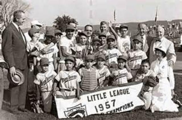 Baseball Little League Perfect Game