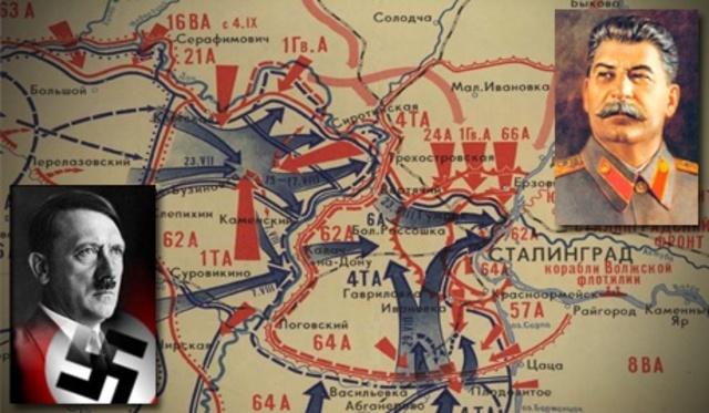 Russians stop Nazi advance at Stalingrad save Moscow