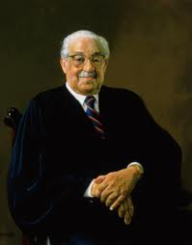 First African-American to be Seated in the Supreme Court Justice