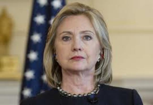 Mrs. Clinton Put In Charge