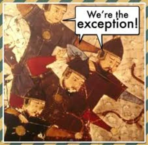 Destruction of Beijing by the mongols