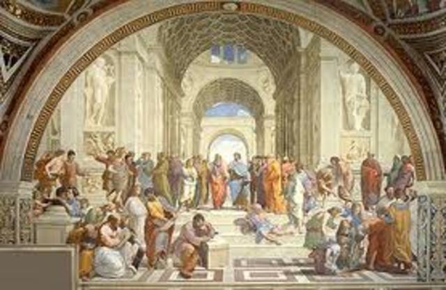 The Painting of the School of Athens