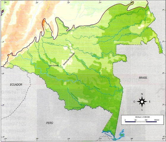 Creación del Departamento de Amazonas.