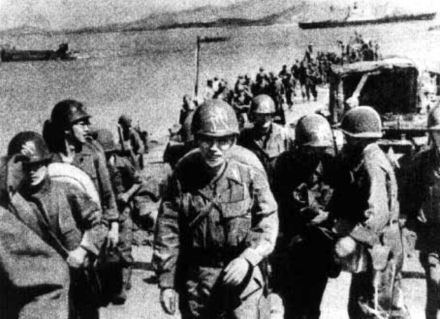 U.S. troops invade at Inchon