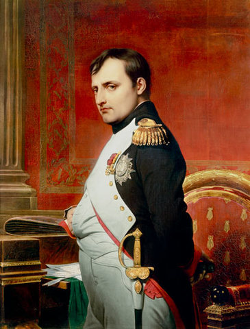 Senate proclaims end of the Empire; Napoleon's wife and son flee Paris
