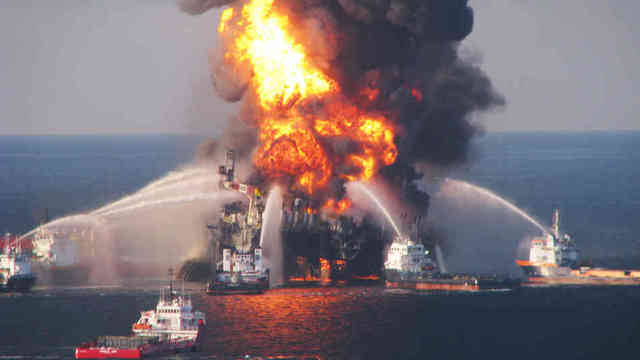 The largest oil spill in the history of the United States.