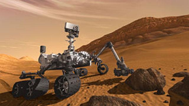 2012 m. rugpjūčio 6 d. Marse nusileido naujausias NASA marsaeigis Curiosity.