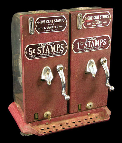 Frist stamp vending machine