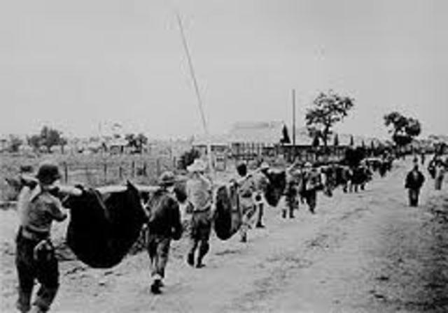 Japanese invade Luzon in the Philippines.