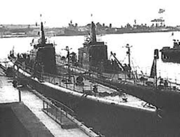 U.S. Langley Sunk