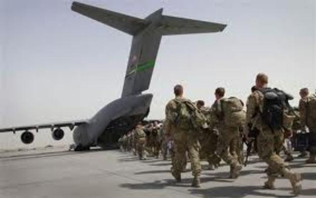 US withdrawal of Troops