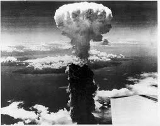 Dropping of the Atomic Bomb