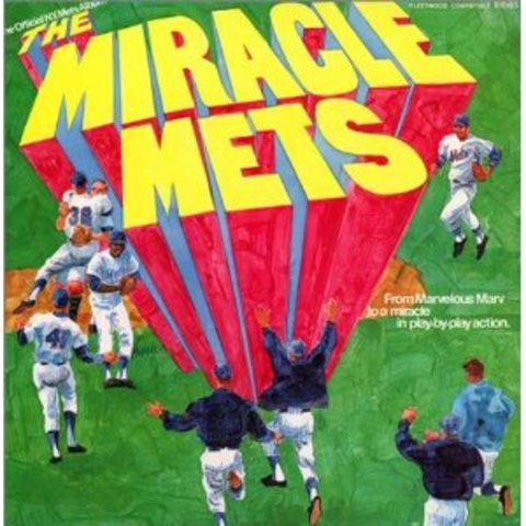 Miracle Mets of '69 Winning the World Series