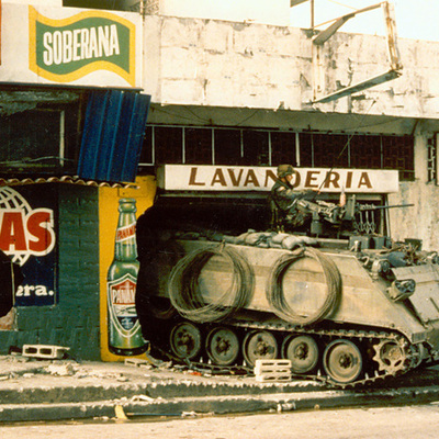 Panama's Oppression and Invasion timeline