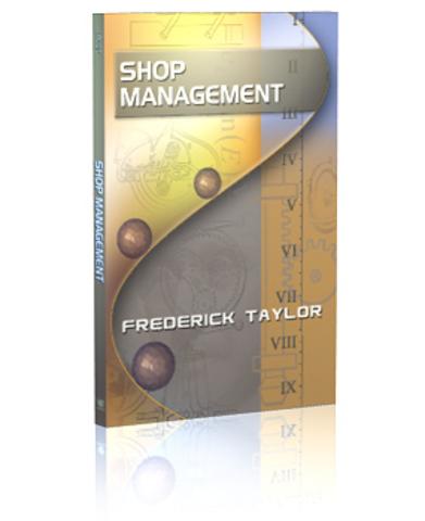 Shop management: El libro de Taylor