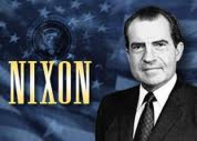 Nixon's TV. Announcment