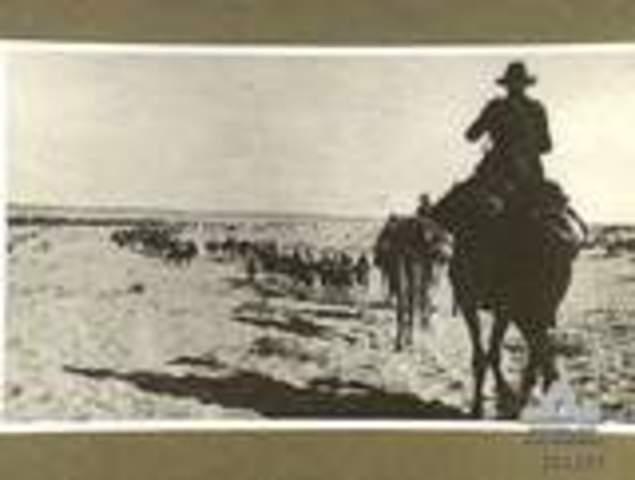 The Australian Light Horse takes Damascus in Syria.