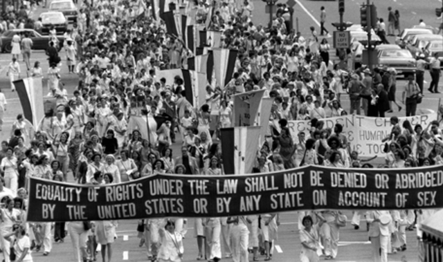 Passing of the Equal Rights Amendment
