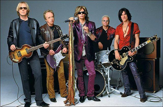 Aerosmith landa a $125,000 deal with Columbia