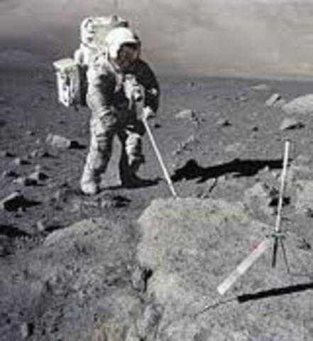 Primera transmisión televisiva desde la Luna