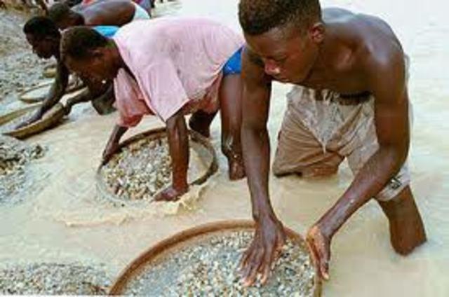 Diamonds in Africa