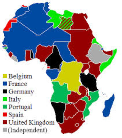 Africas colonization