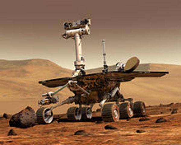 Las sondas Spirit y Opportunity envían fotografías e información científica desde el suelo marciano