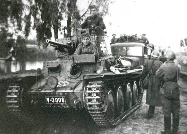 Czechoslovakia is taken